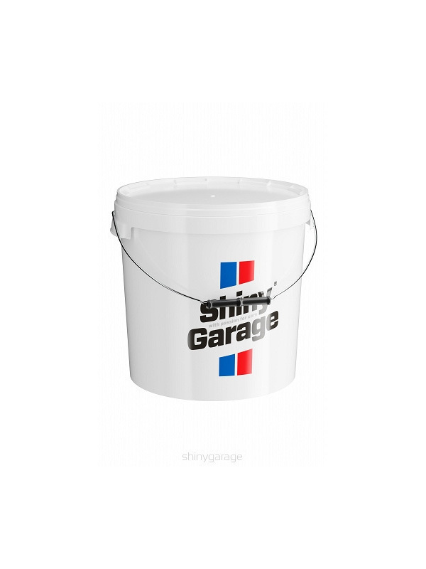 Wash bucket 20l with cover white / black