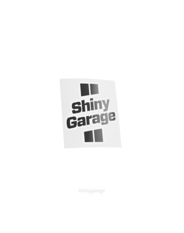 Sticker Shiny Garage